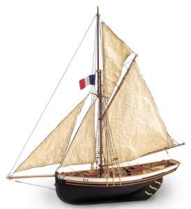 Statek Jolie Brise - Artesania 22180 - drewniany statek skala 1-50