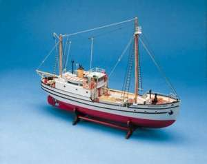 Statek Św. Roch BB605 drewniany statek skala 1-72