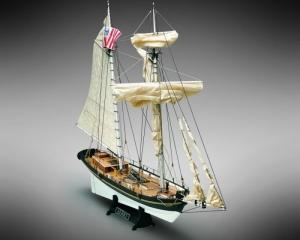 Szkuner Alert Mamoli MV55 drewniany model statku w skali 1-45