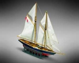 Szkuner Bluenose Mamoli MM11 drewniany model 1-160
