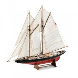 Szkuner rybacki Bluenose 1921 drewniany model 1-100 Amati 1447