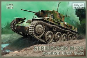 Szwedzki czołg lekki Stridsvagn M/38 IBG 72033