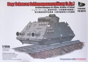 T-Model TK 6073 Pancerny wagon artyleryjski model 1-35