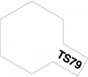 TS-79 Semi gloss clear spray 100ml Tamiya 85079
