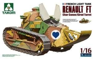 Takom 1001 French Light Tank Renault FT