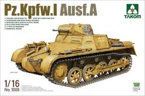Takom 1008 Czołg Pz.Kpfw.I A model 1-16