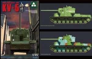 Takom 2006 Soviet Super Heavy Tank KV-5