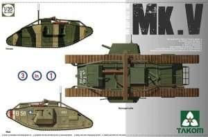 Takom 2034 Ciężki czołg Mk.V -  WWI