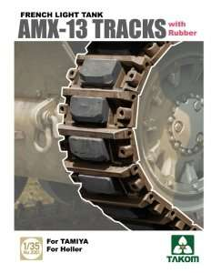 Takom 2061 AMX-13 Tracks with Rubber