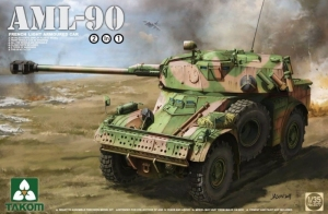 Takom 2077 AML-90 French Light Armored Car