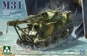 Takom 2088 M31 czołg ciągnik ewakuacyjny