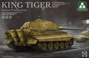 Takom 2096 Czołg King Tiger 4w1