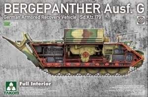 Takom 2107 Czołg ewakuacyjny Bergepanther G z wnętrzem
