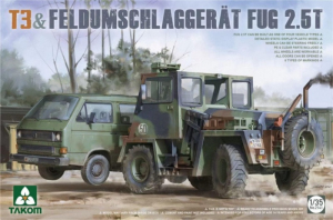 Takom 2141 T3 i Feldumschlaggerat Fug 2.5t model 1-35