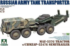 Takom 5004 Transporter MAZ-537G z naczepą CHMZAP-5247G