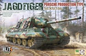 Takom Blitz 8003 Niszczyciel czołgów Jagdtiger Porsche