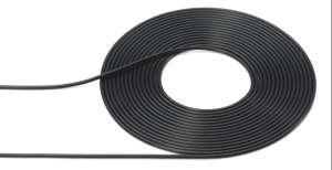 Tamiya 12678 Przewód czarny 1mm x 2m czarny z rdzeniem