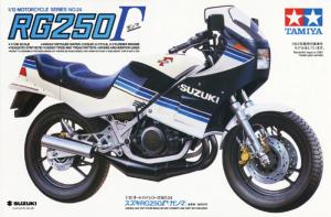 Tamiya 14024 Motocykl Suzuki RG250 Gamma model 1-12