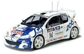 Tamiya 24221 Peugeot 206 WRC