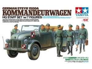 Tamiya 25149 German Steyr 1500A Kommandeurwagen HQ Staff set