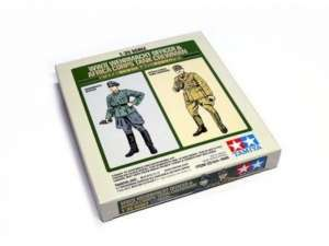 Tamiya 25154 WWII Wehrmacht Officer and Africa Corps Tank Crewman