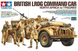 Tamiya 32407 British LRDG Command Car North Africa