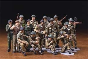 Tamiya 32526 WWII British Infantry Set (European Campaign)