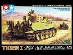 Tamiya 32529 German Tiger I Initial Production