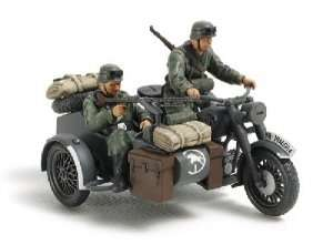 Tamiya 32578 German Motorcycle & Sidecar
