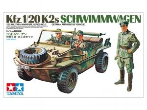 Tamiya 35003 Samochód Schwimmwagen Kfz.1/20 K2s