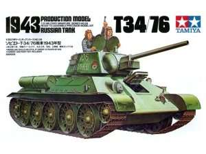 Tamiya 35059 Russian T34/76 1943 Production Model