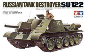Tamiya 35093 Su-122 Russian Tank Destroyer