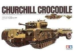 Tamiya 35100 Britisch Churchill Crocodile