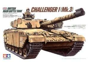 Tamiya 35154 British MBT Challenger 1 ( Mk.3 )