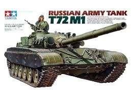 Tamiya 35160 Russian Army Tank T72M1