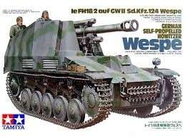 Tamiya 35200 German Self-Propelled Howitzer Wespe