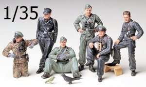 Tamiya 35201 German Tank Crew At Rest