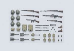 Tamiya 35206 U.S. Infantry Equipment Set