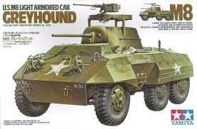 Tamiya 35228 U.S M8 Light Armored Car