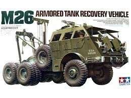Tamiya 35244 M26 Armored Tank Recovery Vehicle