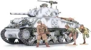 Tamiya 35251 U.S Medium Tank M4A3 Sherman 105mm Howitzer