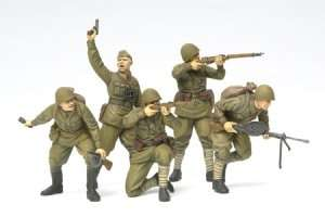 Tamiya 35311 Russian Assault Infantry (1941-1942)