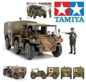 Tamiya 35342 U.S. 6x6 Ambulance Truck M792 Gama Goat