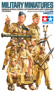 Tamiya 35343 Figurki niemieccy żołnierze Africa Luftwaffe
