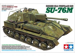 Tamiya 35348 Działo Su-76M model 1-35