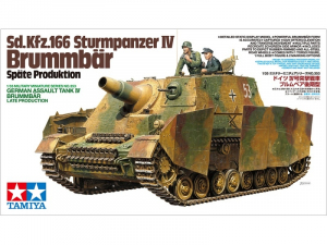 Tamiya 35353 Działo pancerne Sd.Kfz.166 Sturmpanzer IV Brummbar
