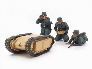 Tamiya 35357 German Assault Pioneer Team and Goliath set