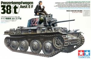 Tamiya 35369 Czołg Pz.Kpfw.38 (t) Ausf. E F skala 1-35