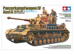 Tamiya 35378 Czołg Panzerkampfwagen IV Ausf.G z figurkami