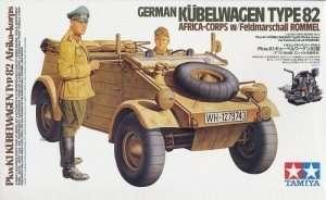 Tamiya 36202 Kubelwagen Typ 82 Africa Corps - skala 1:16